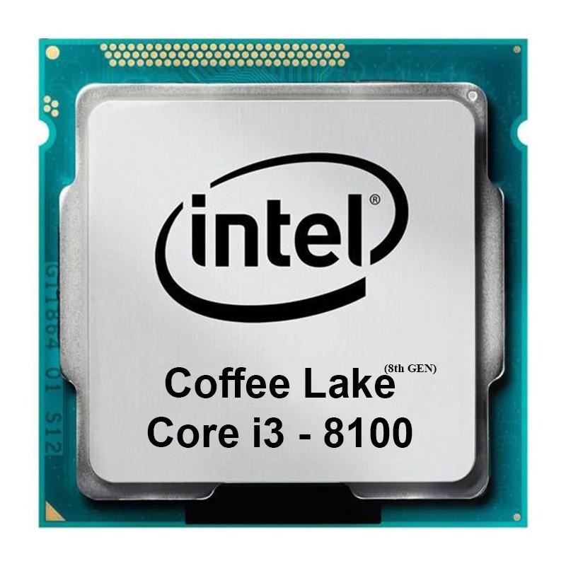 پردازنده Intel مدل Corei3-8100