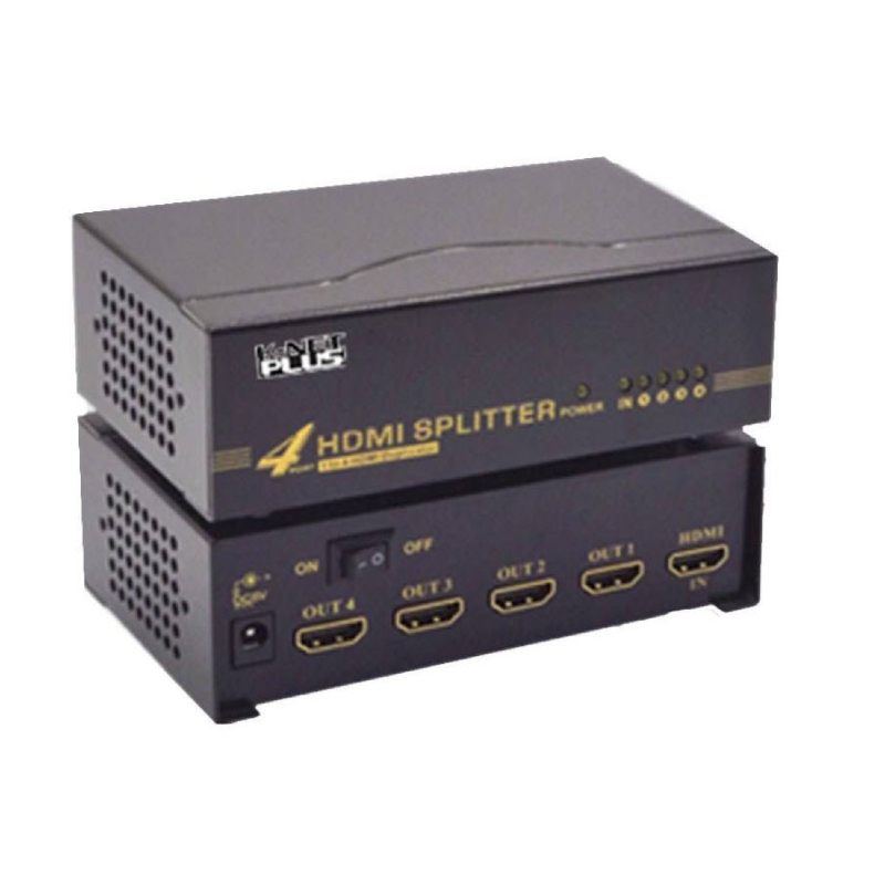 اسپلیتر 4 پورت HDMI کی نت مدل KPS644